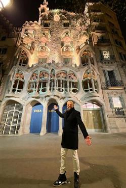Εικόνες με τον Τάσο Δούση - Βαρκελώνη