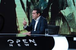 Ο Αλέξης Τσίπρας στο κεντρικό δελτίο του Open