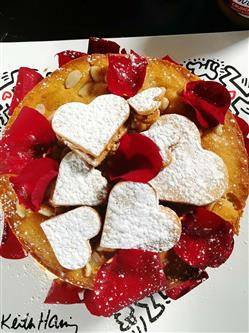 Γλυκές Αλχημείες - Puits d' amour, φυστικοβούτυρο, σοκολατάκι με καβουρδισμένα φουντούκια