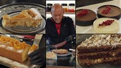 Γλυκές αλχημείες - Κρεμέ με διαφορετικό είδος σοκολάτας, πάστα φλώρα, κέικ της μαμάς