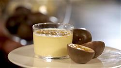 Γλυκές αλχημείες - Γλυκό κουταλιού φιρίκι, γρήγορη κρέμα passion fruit, γκανάς καραμέλας σε τραγανά μπισκότα